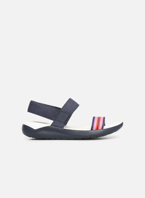 Sandals Crocs LiteRide Sandal W Blue back view