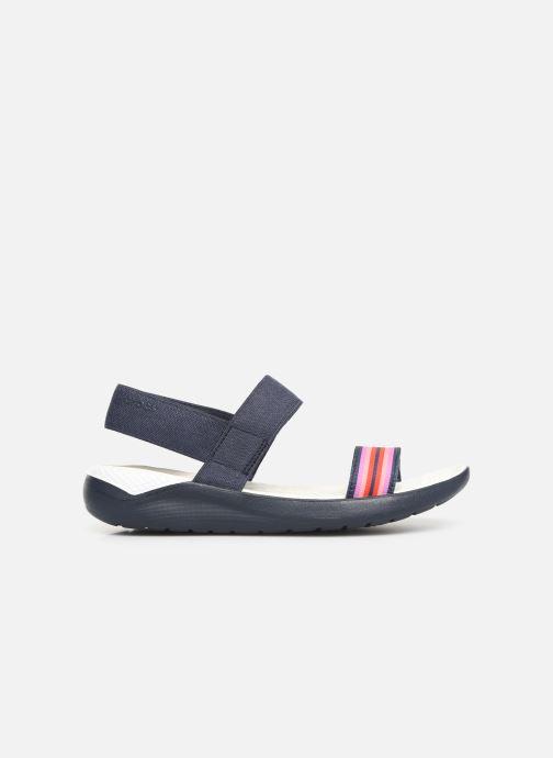Sandales et nu-pieds Crocs LiteRide Sandal W Bleu vue derrière