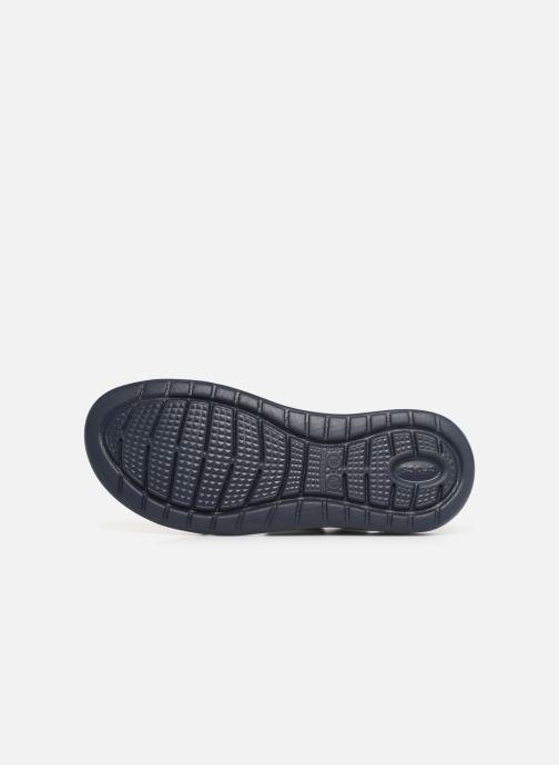 Sandalias Crocs LiteRide Sandal W Azul vista de arriba