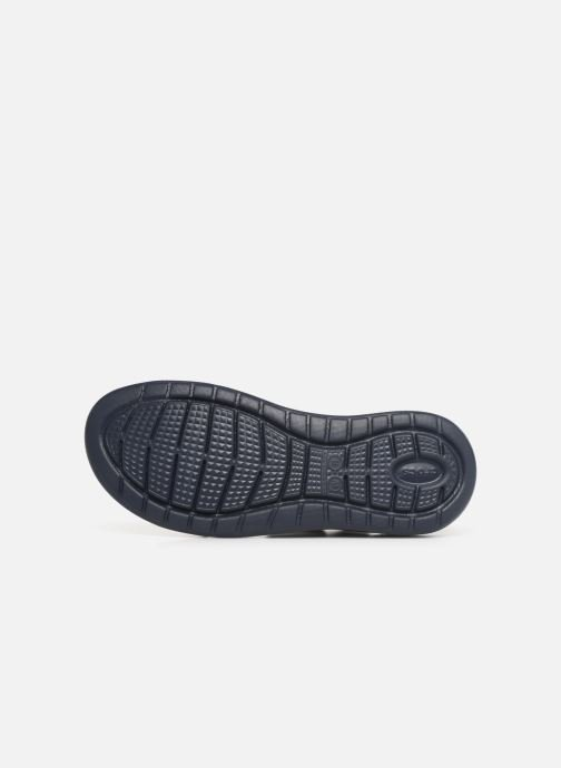 Sandals Crocs LiteRide Sandal W Blue view from above