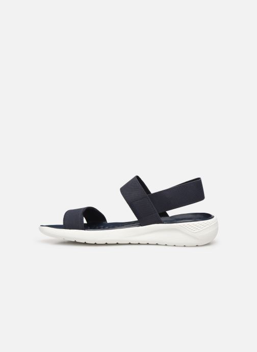 Sandalen Crocs LiteRide Sandal W Blauw voorkant