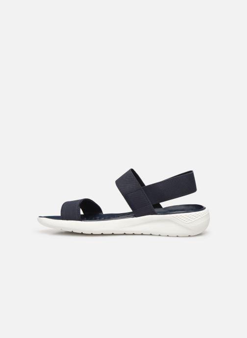 Sandalen Crocs LiteRide Sandal W blau ansicht von vorne