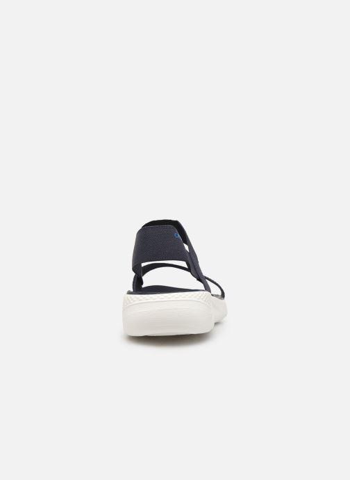 Sandalen Crocs LiteRide Sandal W blau ansicht von rechts