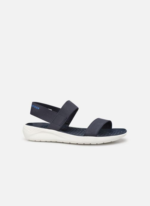 Sandalen Crocs LiteRide Sandal W Blauw achterkant