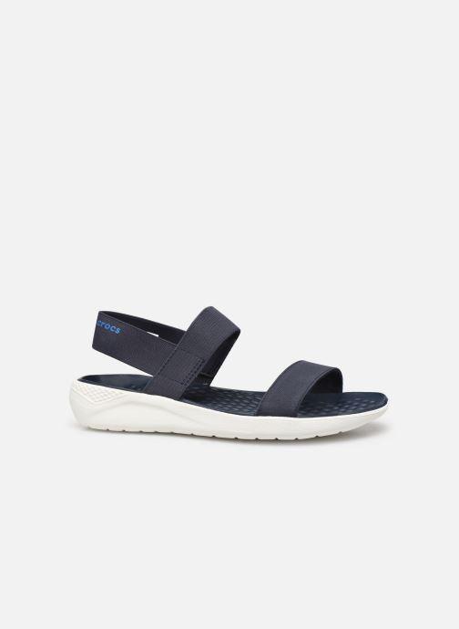Sandalen Crocs LiteRide Sandal W blau ansicht von hinten