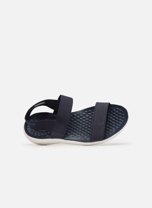 Sandales et nu-pieds Crocs LiteRide Sandal W Bleu vue gauche
