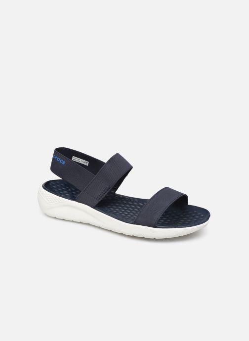 Sandalen Crocs LiteRide Sandal W blau detaillierte ansicht/modell