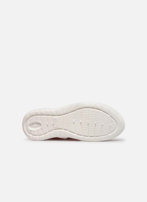 Sandales et nu-pieds Crocs LiteRide Sandal W Orange vue haut