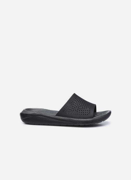 Zuecos Crocs LiteRide Slide W Negro vistra trasera