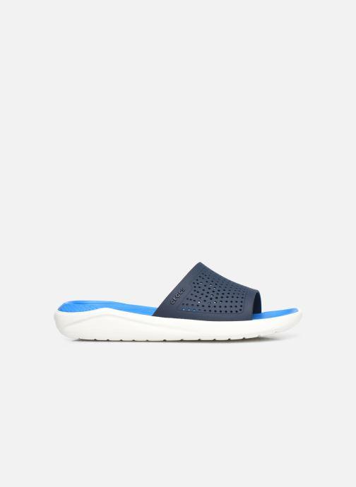Mules et sabots Crocs LiteRide Slide W Bleu vue derrière