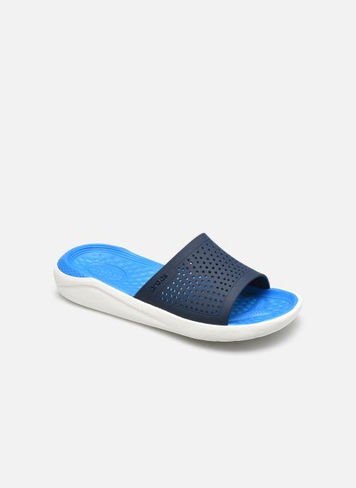 Mules et sabots Crocs LiteRide Slide W Bleu vue détail/paire