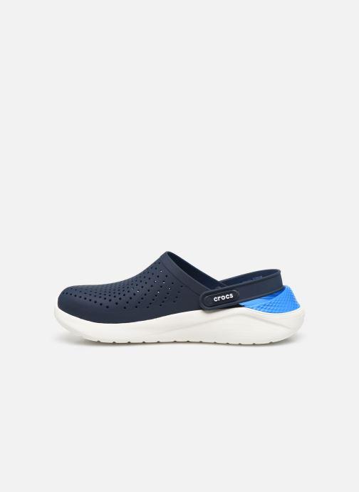Zoccoli Crocs LiteRide Clog W Azzurro immagine frontale