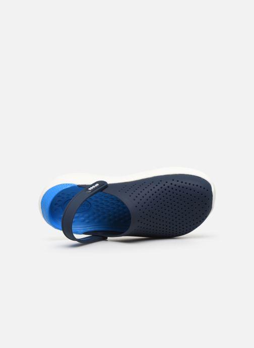 Zoccoli Crocs LiteRide Clog W Azzurro immagine sinistra