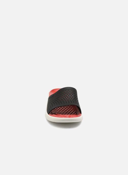 Sandales et nu-pieds Crocs LiteRide Slide M Rouge vue portées chaussures