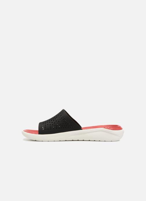 Sandales et nu-pieds Crocs LiteRide Slide M Rouge vue face