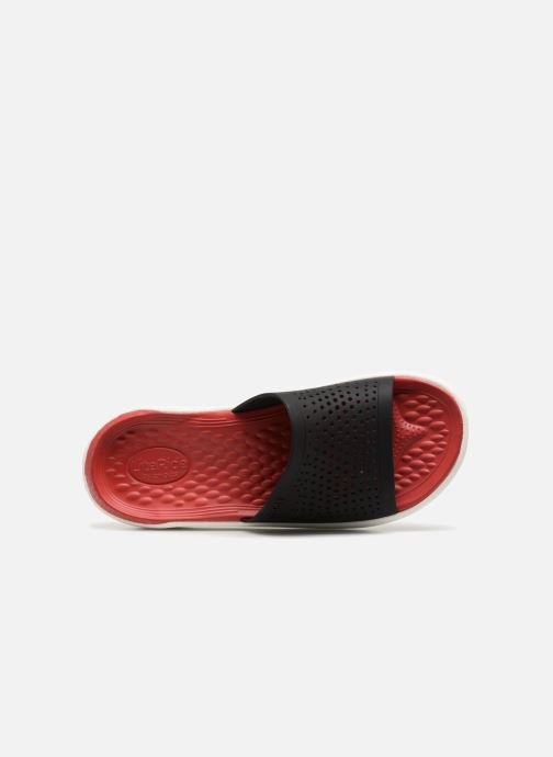 Sandals Crocs LiteRide Slide M Red view from the left