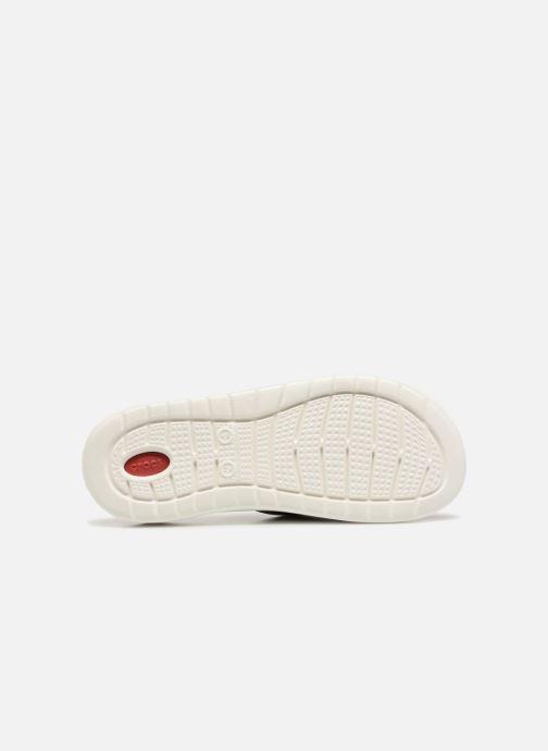 Sandales et nu-pieds Crocs LiteRide Slide M Rouge vue haut