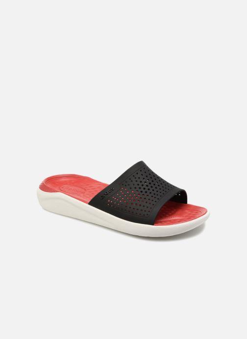 Sandales et nu-pieds Crocs LiteRide Slide M Rouge vue détail/paire