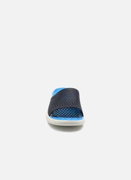 Sandalen Crocs LiteRide Slide M blau schuhe getragen