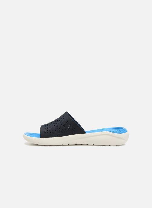 Sandales et nu-pieds Crocs LiteRide Slide M Bleu vue face