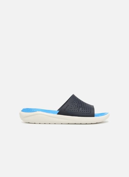 Sandales et nu-pieds Crocs LiteRide Slide M Bleu vue derrière