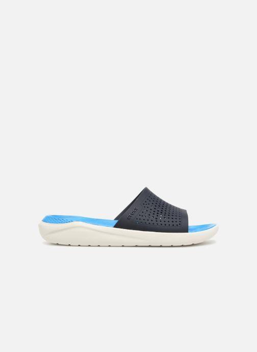 Sandalen Crocs LiteRide Slide M blau ansicht von hinten