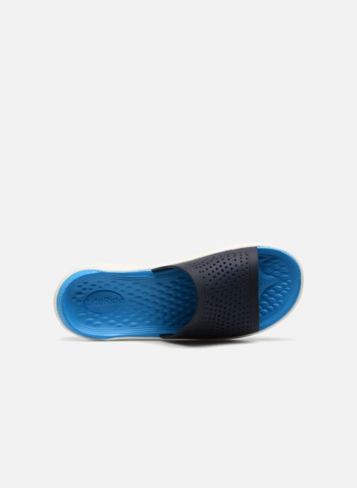 Sandales et nu-pieds Crocs LiteRide Slide M Bleu vue gauche