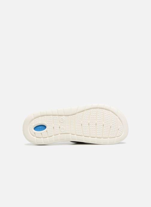 Sandalen Crocs LiteRide Slide M blau ansicht von oben