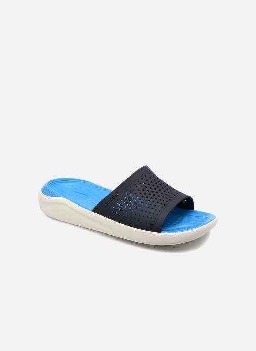 Sandales et nu-pieds Crocs LiteRide Slide M Bleu vue détail/paire