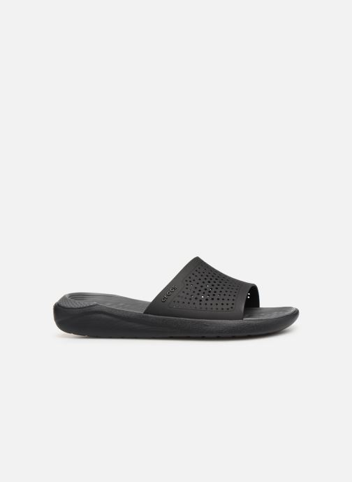Sandales et nu-pieds Crocs LiteRide Slide M Gris vue derrière