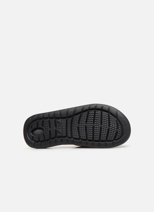 Sandals Crocs LiteRide Slide M Grey view from above