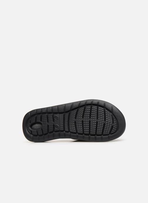 Sandales et nu-pieds Crocs LiteRide Slide M Gris vue haut