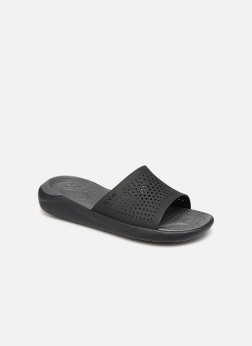 Sandales et nu-pieds Crocs LiteRide Slide M Gris vue détail/paire
