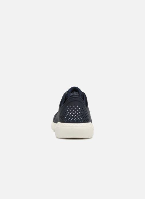 Baskets Crocs LiteRide Pacer M Bleu vue droite