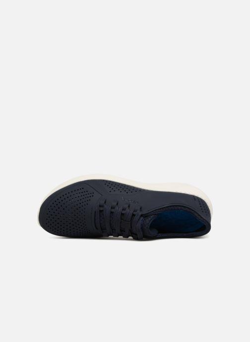 Sneaker Crocs LiteRide Pacer M blau ansicht von links