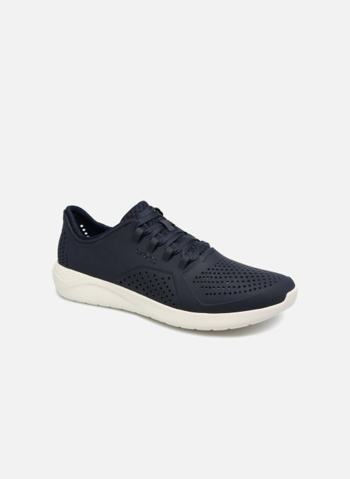Baskets Crocs LiteRide Pacer M Bleu vue détail/paire
