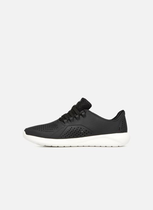 Sneaker Crocs LiteRide Pacer M schwarz ansicht von vorne