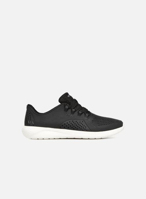 Sneaker Crocs LiteRide Pacer M schwarz ansicht von hinten