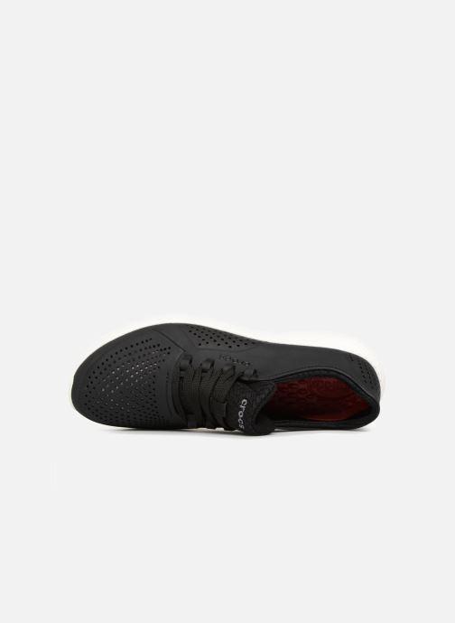 Sneaker Crocs LiteRide Pacer M schwarz ansicht von links