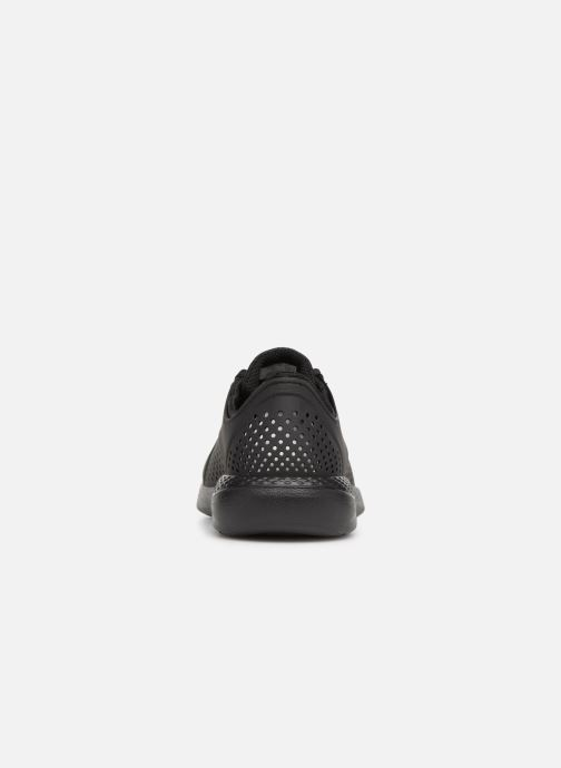Trainers Crocs LiteRide Pacer M Black view from the right