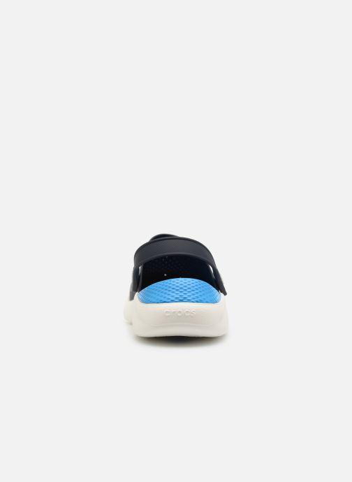 Sandales et nu-pieds Crocs LiteRide Clog M Bleu vue droite