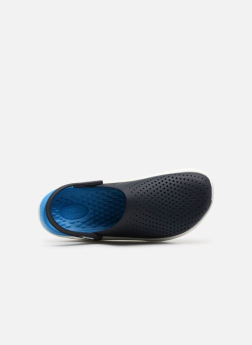Sandals Crocs LiteRide Clog M Blue view from the left