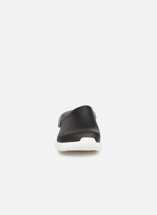 Sandalen Crocs LiteRide Clog M schwarz schuhe getragen