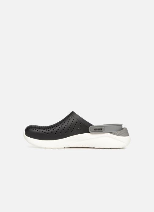 Sandalen Crocs LiteRide Clog M schwarz ansicht von vorne