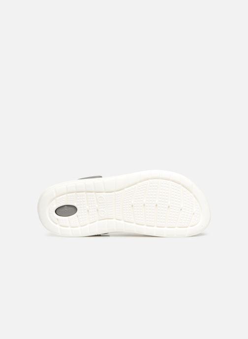 Sandalias Crocs LiteRide Clog M Negro vista de arriba