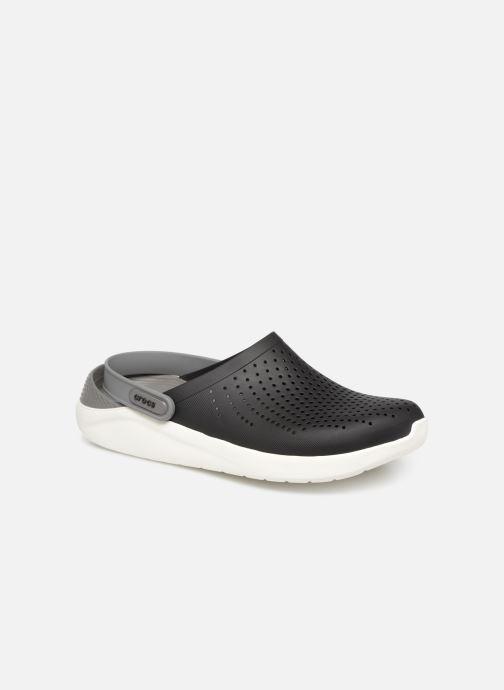 Sandalias Crocs LiteRide Clog M Negro vista de detalle / par