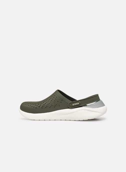 Sandals Crocs LiteRide Clog M Green front view
