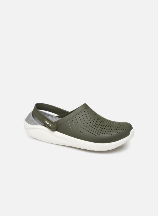 Sandals Crocs LiteRide Clog M Green detailed view/ Pair view