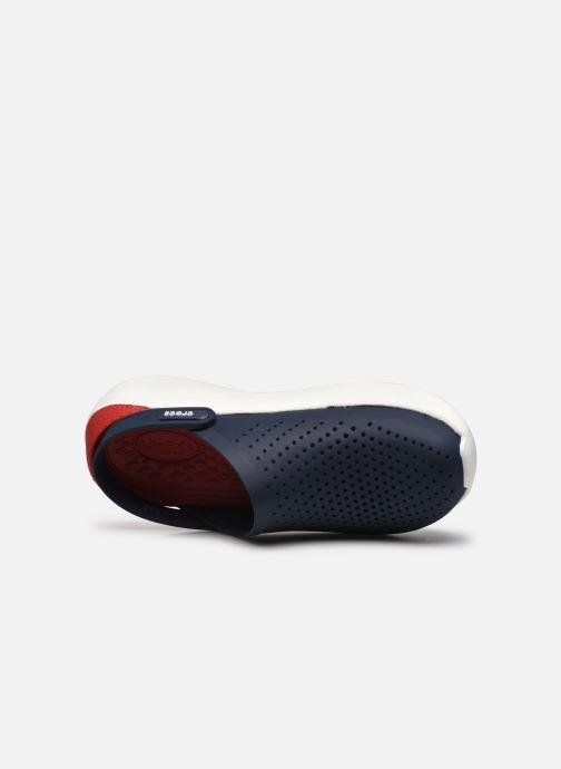 Sandales et nu-pieds Crocs LiteRide Clog M Bleu vue gauche