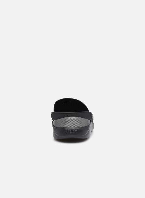 Sandalen Crocs LiteRide Clog M Zwart rechts